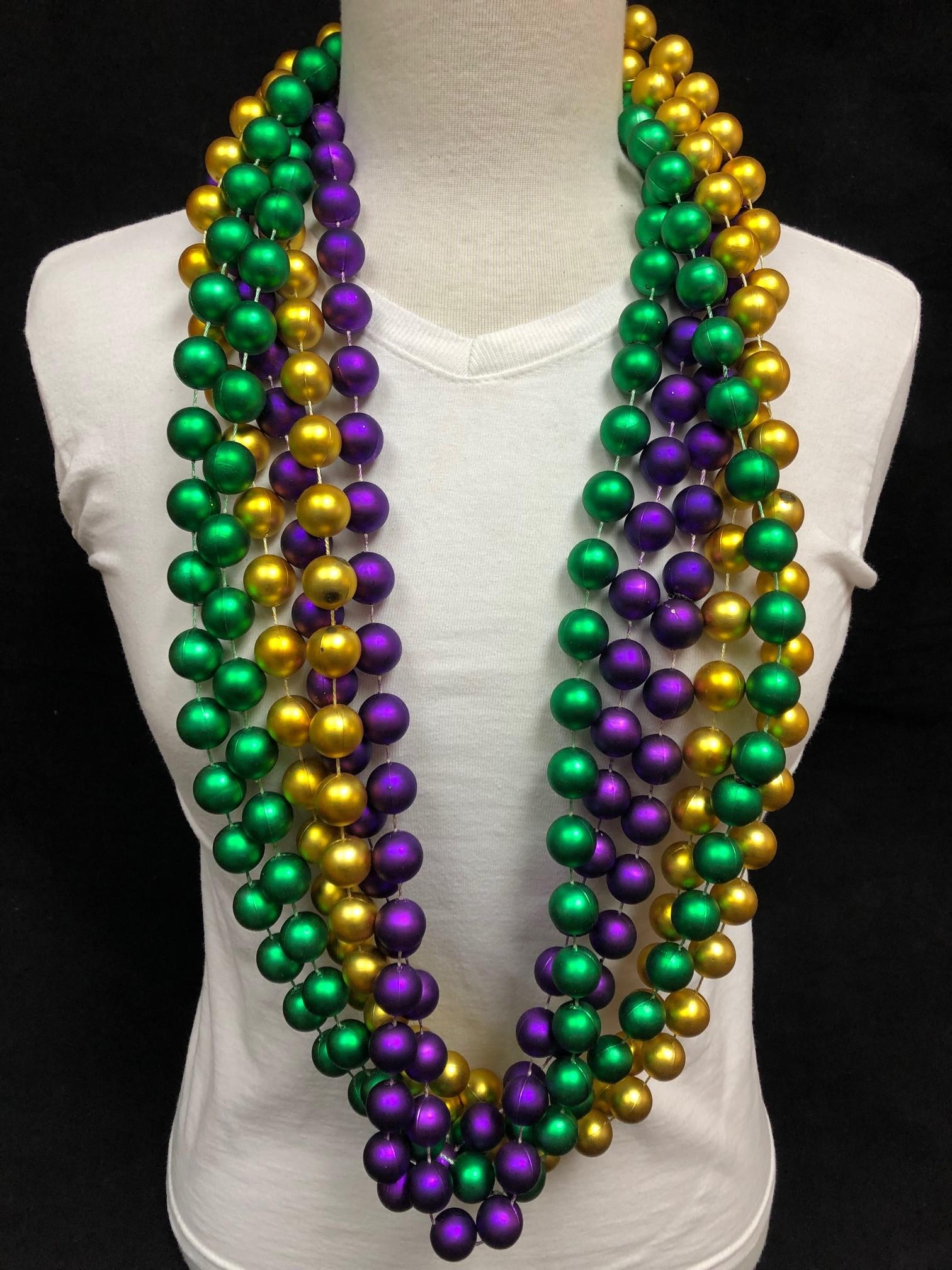 Satin  Beads