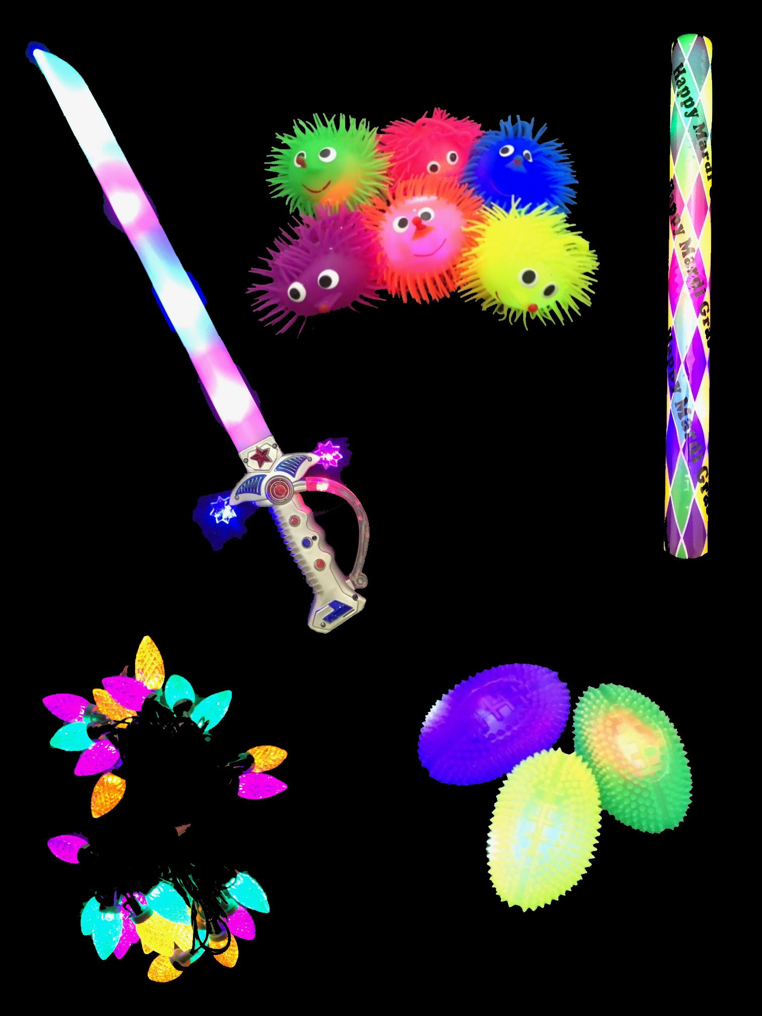 Flashing /  LED Toys, Trinkets, Trows