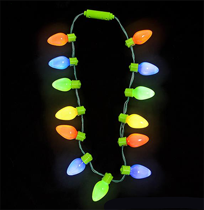 Light Up Beads And Necklaces