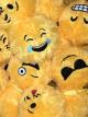 Emoticon Fuzzy Ball- 6